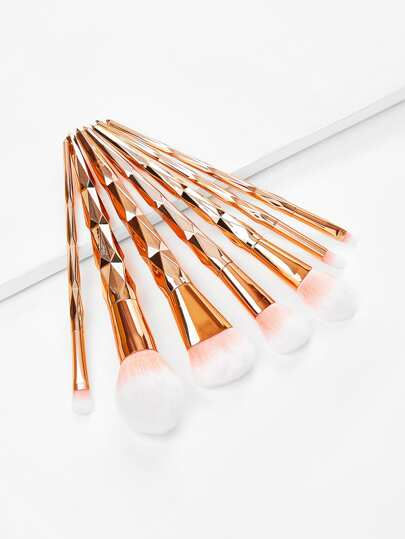 Diamond Shaped Handle Makeup Brush 7pcs