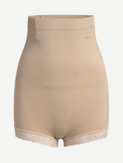 Shorts Shapewear avec pan en dentelle