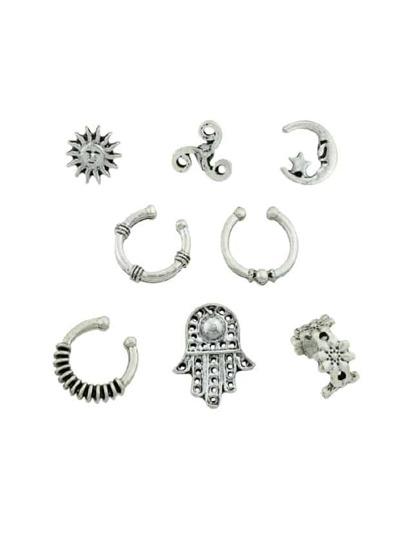 Set di orecchini - Argento