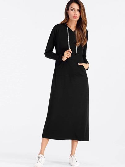 فستان-بقبعة بشريط