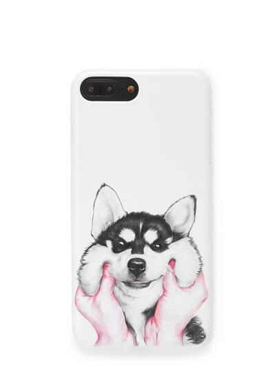 Dog Print iPhone Case