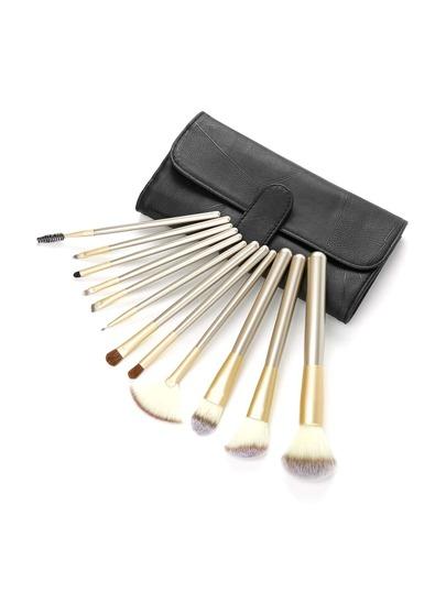 Professional Makeup Brush Set 12pcs With Bag