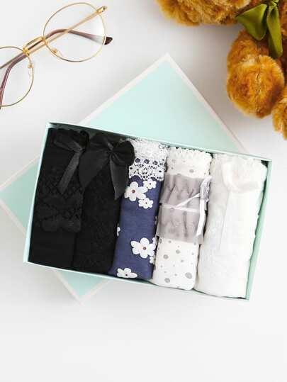 Calico Print Panty 5pcs