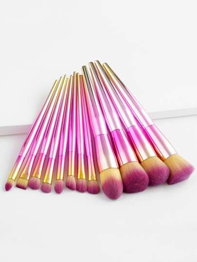 Ombre Professional Makeup Brush 12pcs