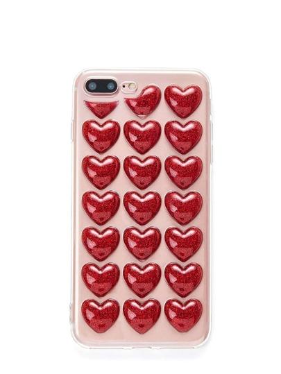 Heart Pattern iPhone Case