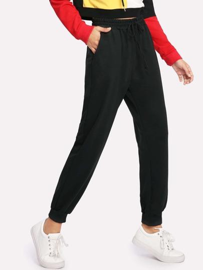 Sweat-pantalons avec ceinture