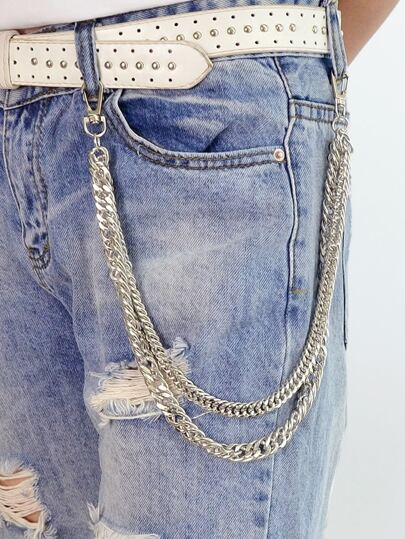 Sex Body Jewelry Silver Color Multi Layer Chain Body Chain
