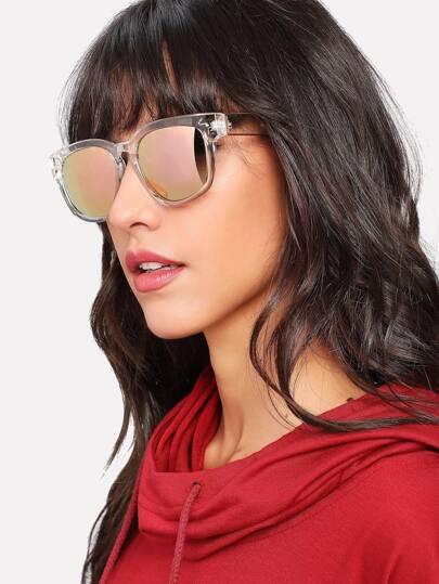 Gafas de sol de lentes espejo