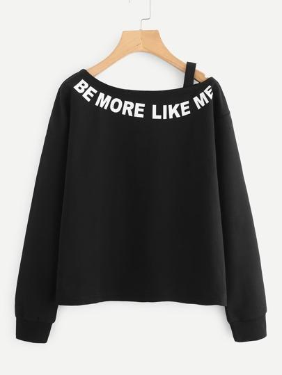 Camisa con letra