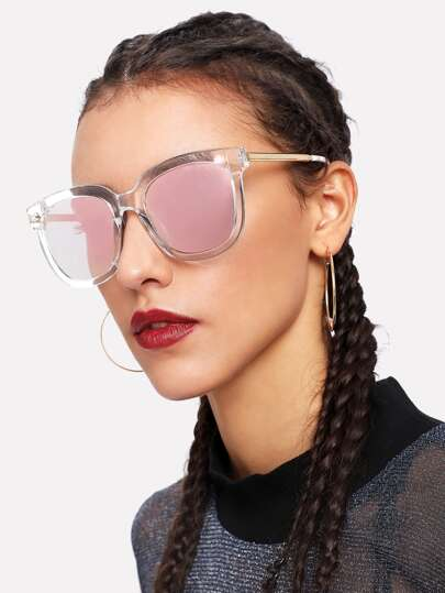 Clear Frame Sunglasses