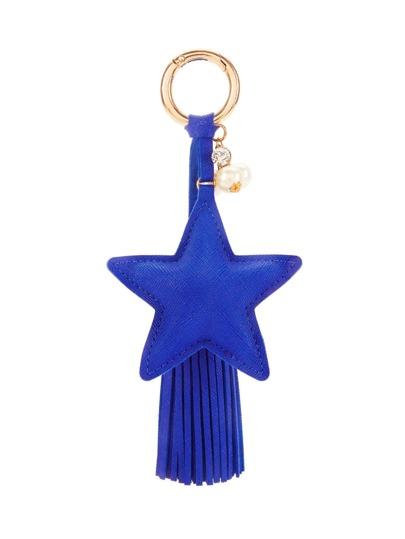 Star Design Tassel Keychain