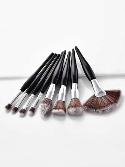 Soft Bristle Professional Makeup Brush Set 8pcs