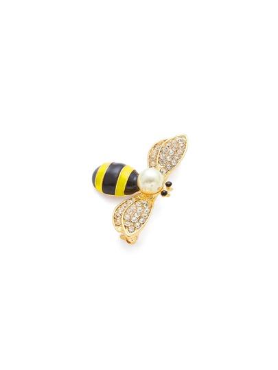 Broche design d\'abeille avec bijou