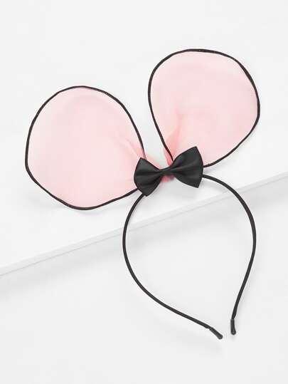 Ear & Bow Design Headband