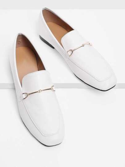 Chaussures plates en PU
