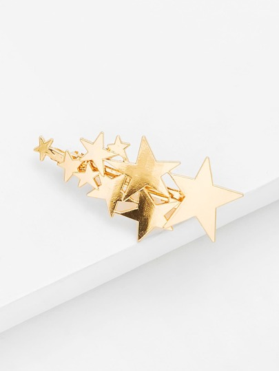 Star Decorated Hair Clip