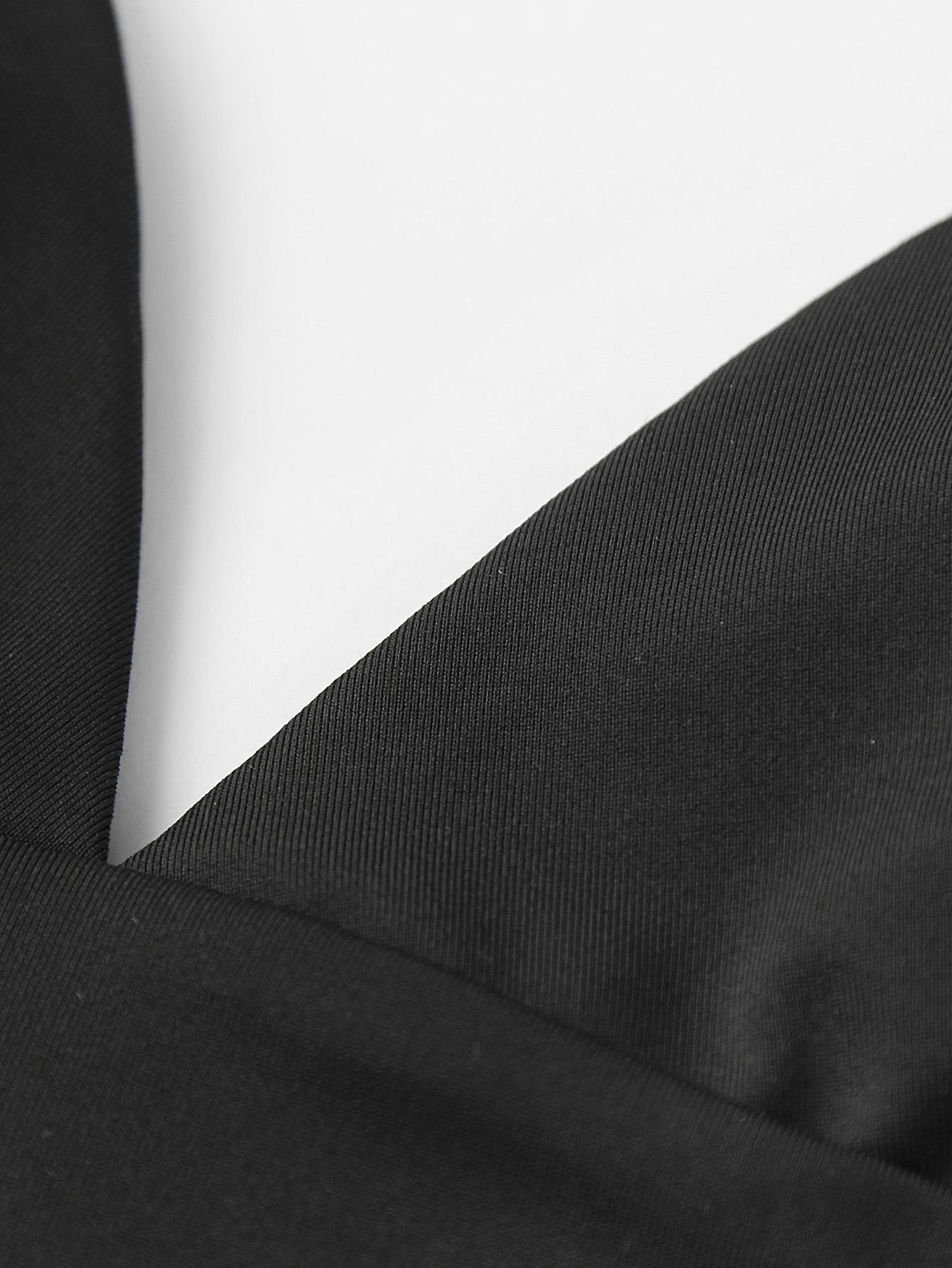 V-neckline Crop Cami Top