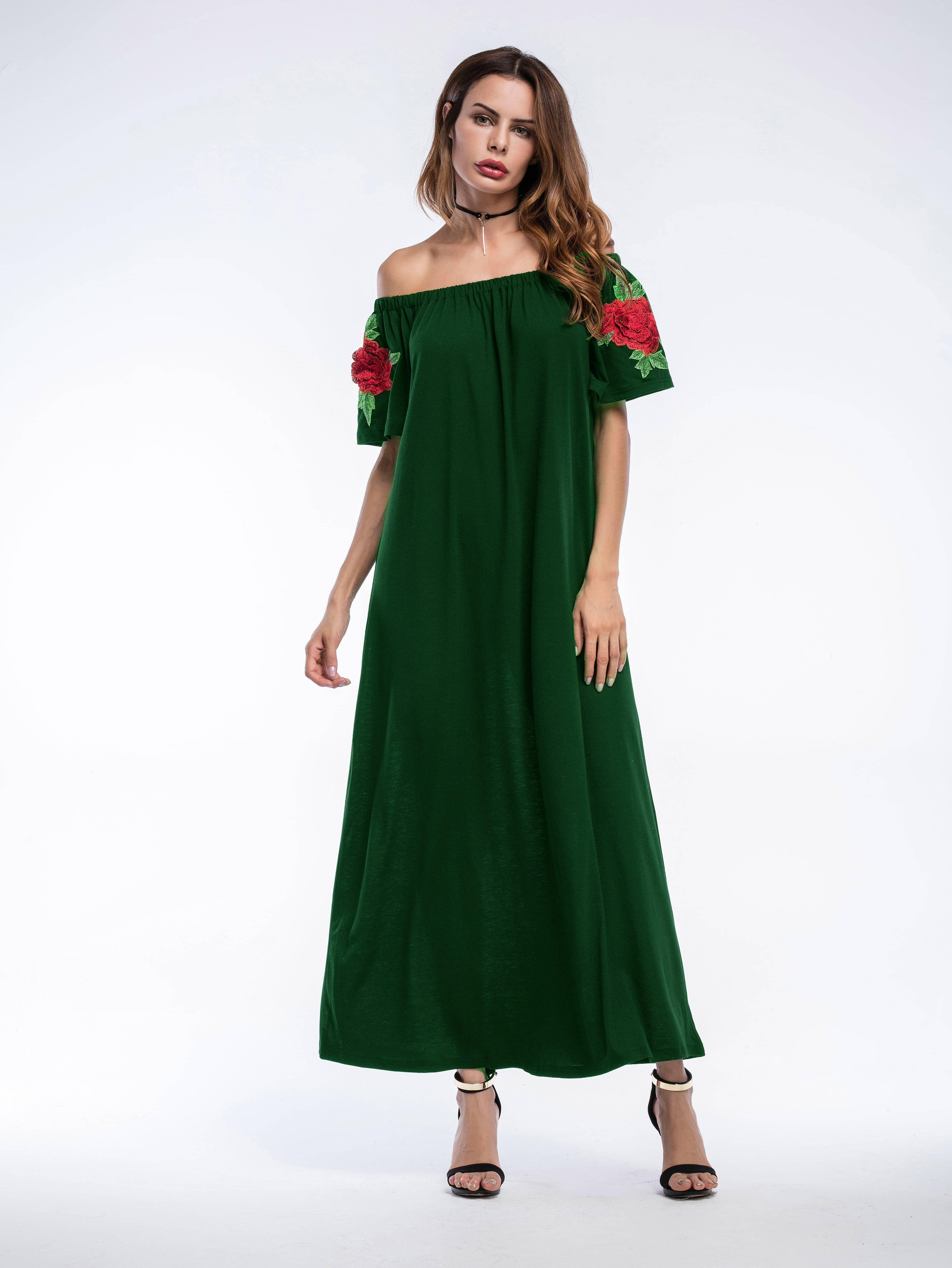 Фото Bardot Embroidered Appliques Longline Dress. Купить с доставкой