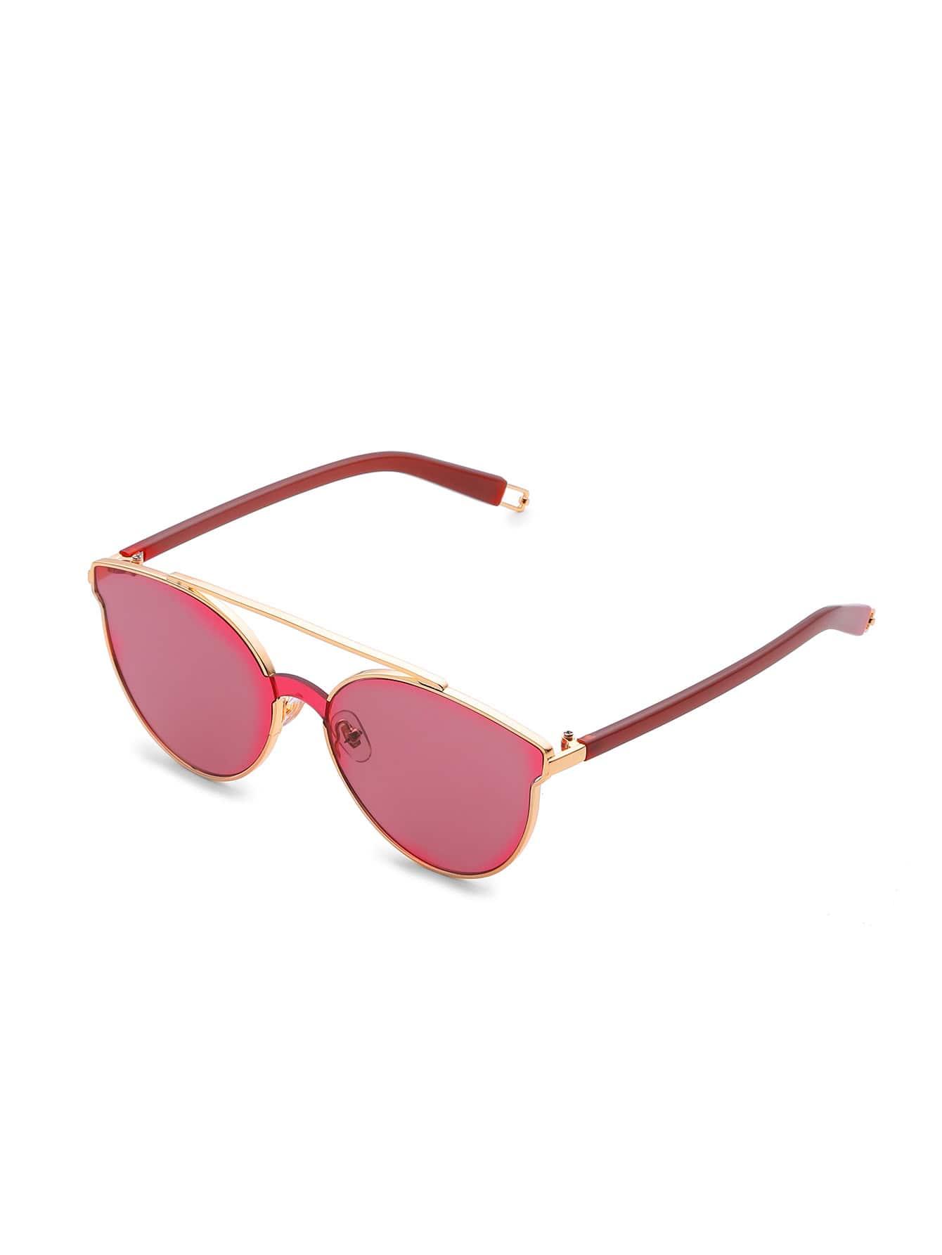 Фото Flat Lens Top Bar Sunglasses. Купить с доставкой