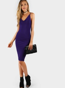 Sleek Cami Bodycon Midi Dress