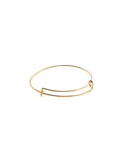 Minimalist Adjustable Metal Bracelet