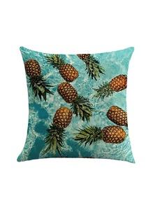 Allover Pineapple Print Pillowcase Cover