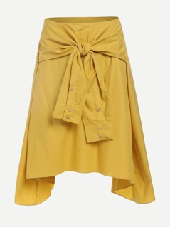 Knot Front Multiway Skirt