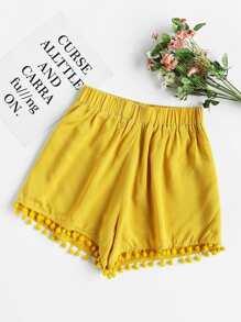 Pantaloncini Pom Pom Hem