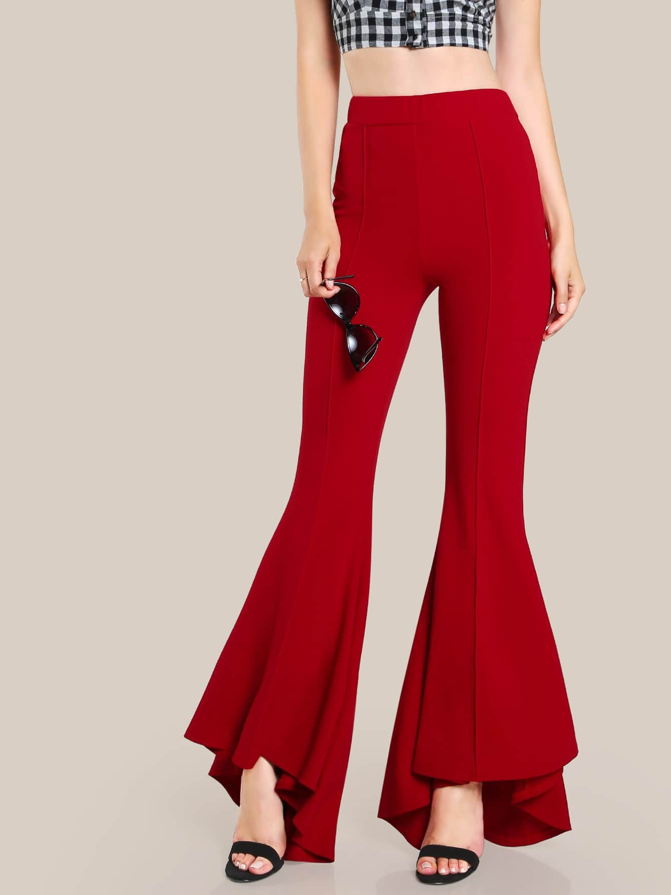 Flare Pants. Bring a little personality to any casual, semi-formal or professional business wardrobe by adding a pair of flare pants to any women's fashion collection.