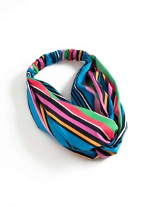 Striped Turban Headband
