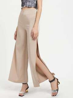 Split Side Tailored Pants