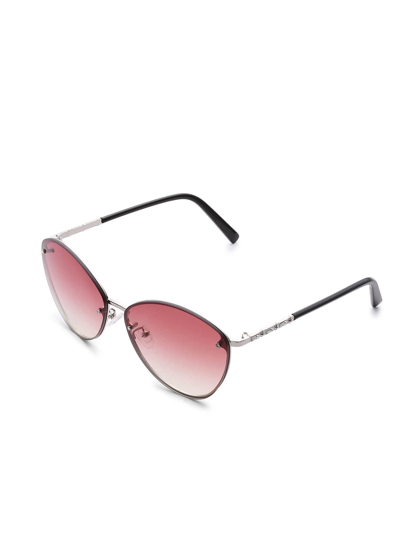 Фото Oval Lens Rimless Sunglasses. Купить с доставкой
