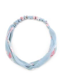 Calico Print Twist Headband