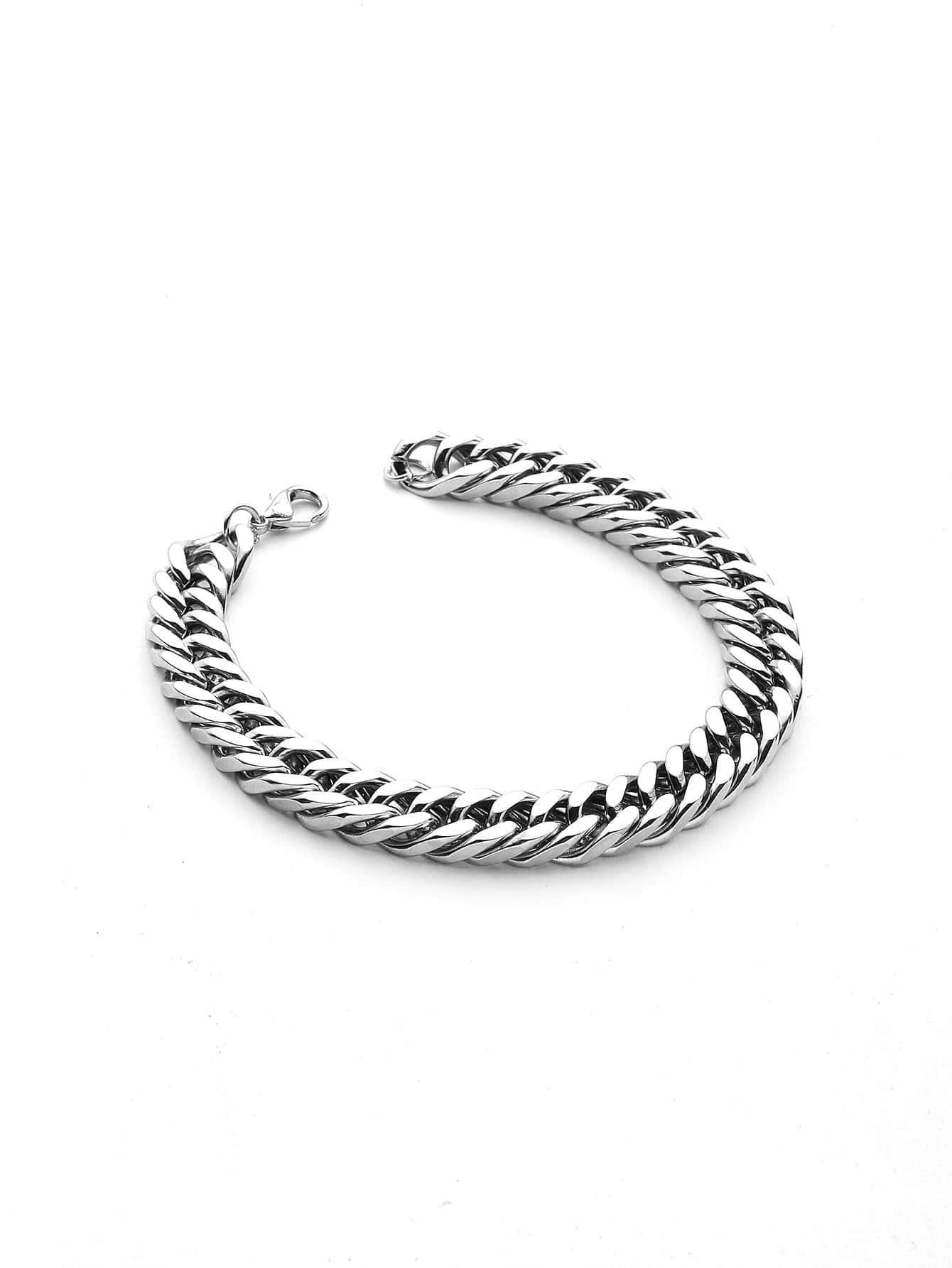 Фото Minimalist Chain Bracelet. Купить с доставкой