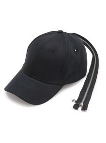 Long Zipper Back Design Baseball Cap