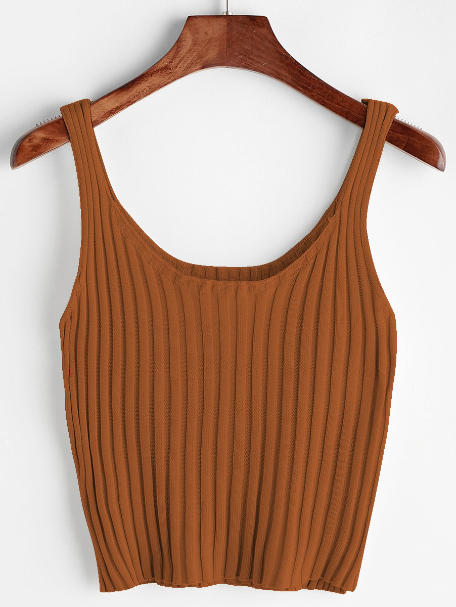 Ribbed Tank Top RVES170519104