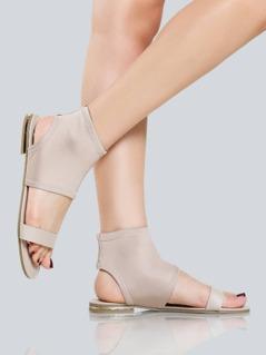 Lycra Stretch Sandals NUDE