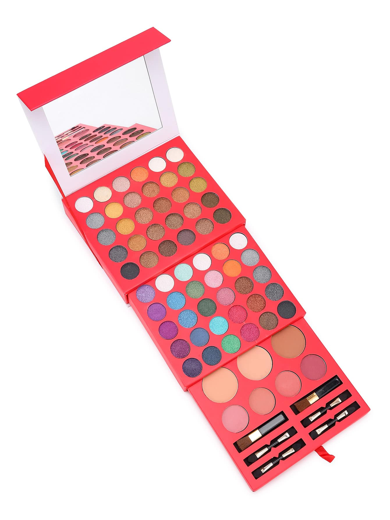 Фото Eyeshadow & Blusher & Eyebrow Powder Palette Set. Купить с доставкой
