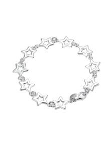 Bracelet de chaîne design de étoile creuse