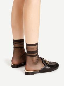 Casual Sheer Socks