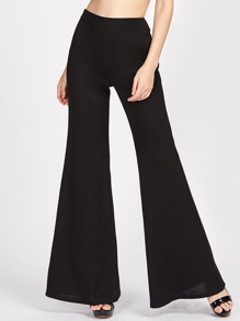 Zip Side Super Flare Pants