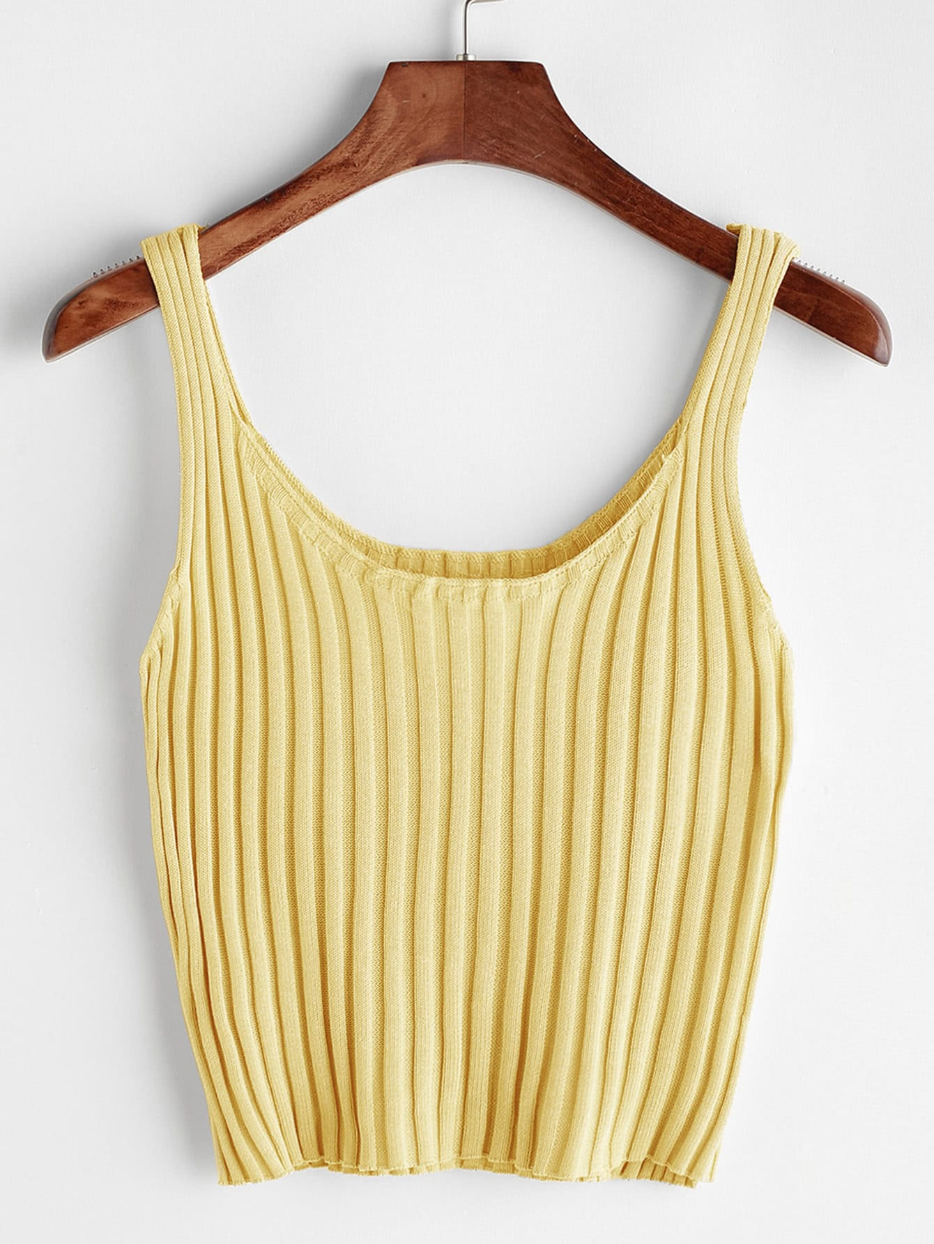 Ribbed Tank Top