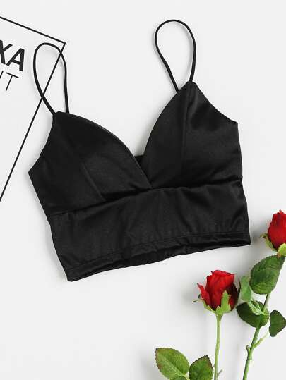 Plunge Cross Bralet