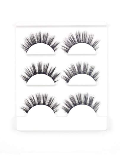 Thick False Eyelash 3pairs