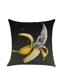 Banana Print Pillowcase Cover