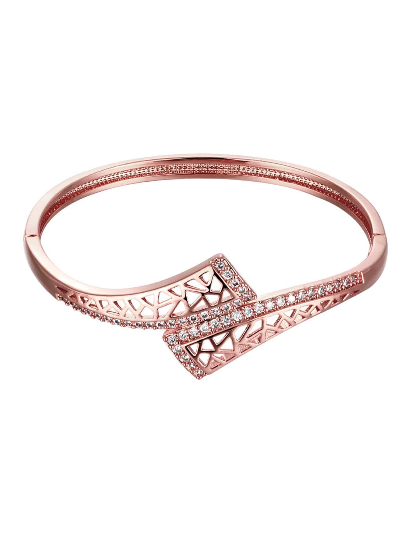 Фото Rhinestone Decorated Bracelet. Купить с доставкой