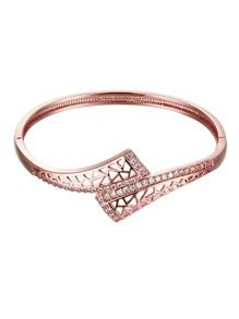 Rhinestone Decorated Bracelet