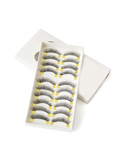 Long False Eyelashes Set