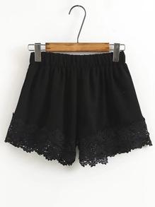 Pantaloncini elastici in vita