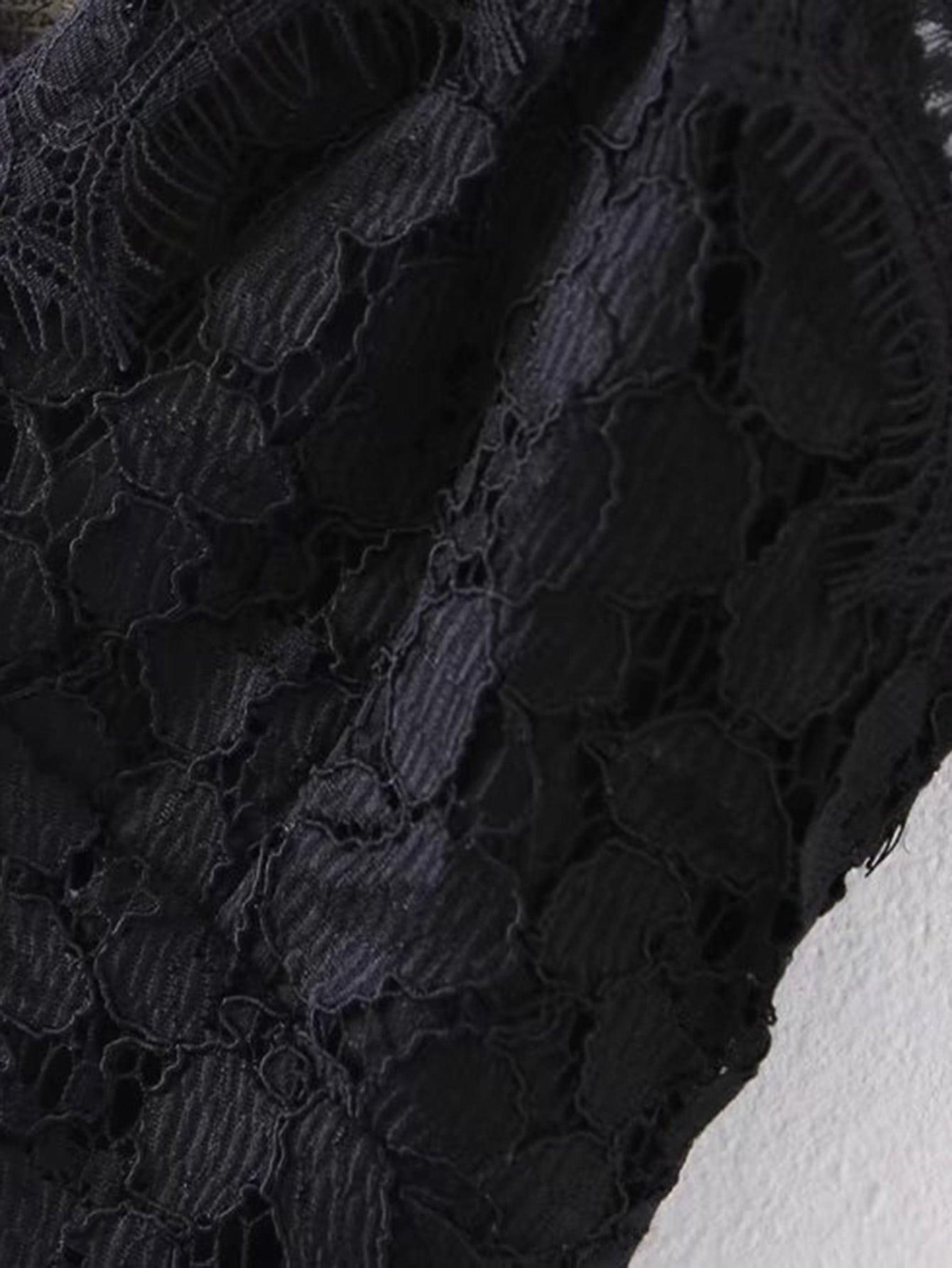 Lace Crop Cami Top